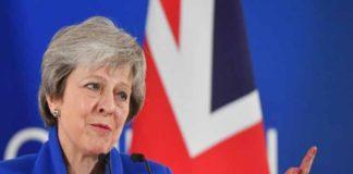 """May dispuesta a renegociar el acuerdo del """"brexit"""""""
