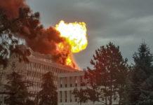 Un herido deja una espectacular explosión accidental en la Universidad de Lyon