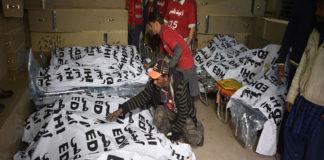 27 muertos en un accidente de autobús en Pakist