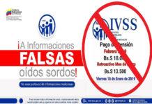 IVSS desmiente rumores que este viernes 18E hay pago de pensión (+Aviso)