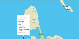Sismo de 3.1 fue el temblor que se registró al sur de Punto Fijo
