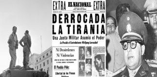Hoy 23 de enero Día de la Democracia venezolana