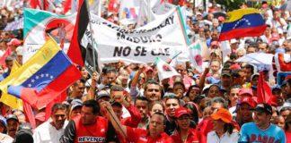 Alcaldes y concejales oficialistas ratifican apoyo a Maduro