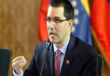 """Arreaza denuncia """"operación mediática"""" con detención de periodistas"""