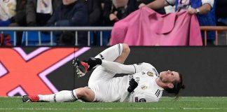 Bale sufre una lesión en su sóleo izquierdo