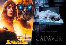 Bumblebee llega a la cartelera nacional