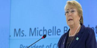 Bachelet condena muerte manifestantes en Venezuela y pide diálogo inmediato