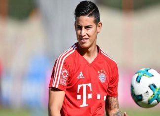 James: de momento sólo pienso en el Bayern