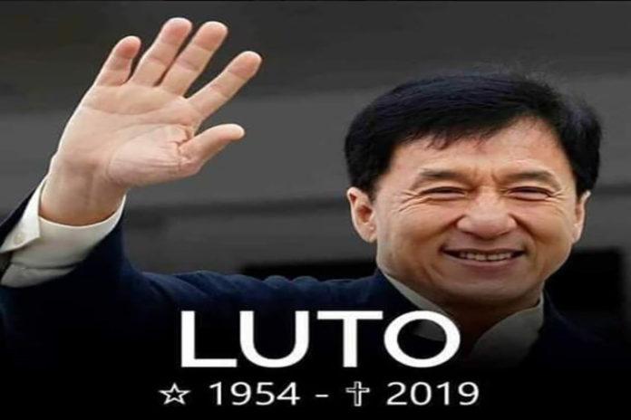Por quinta vez el Internet mata a Jackie Chan