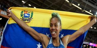 Yulimar Rojas ganó oro en Alemania