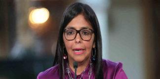 Vicepresidenta Delcy Rodríguez se reunirá el viernes con Lavrov
