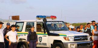 Clark entregó estación y radio patrulla a la población de Adaure
