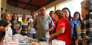 Inass entregó insumos médicos en centro geriátrico de Coro