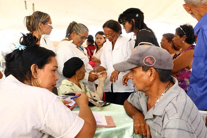 Punta Cardón recibió jornada de salud integral y saneamiento ambiental
