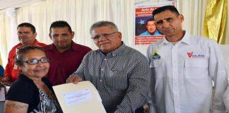 205 títulos de tierras entregó la Alcaldía de Carirubana en Santa Rosalía