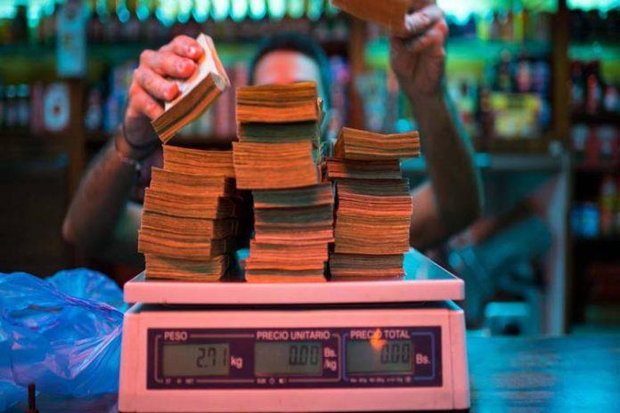 Proyectan que la inflación cierre este año en 20.000.000%, según Cedice