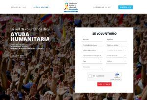 Miles de venezolanos se han inscrito para distribuir la ayuda humanitaria