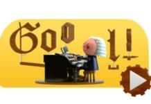 Google realizó tributo a Bach con un doodle interactivo