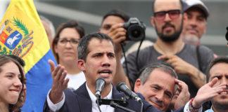 """""""Nos amenazaron y seguimos aquí dándole la cara a Venezuela"""", dijo Guaidó"""