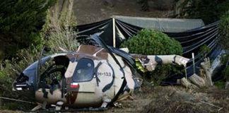 Cuatro muertos y dos heridos graves deja accidente de helicóptero en Chile
