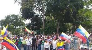 La convocatoria por el retorno de Juan Guaidó se cumplió en Trujillo