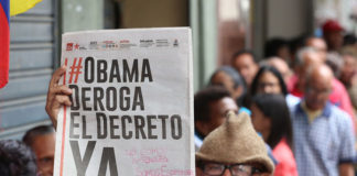 Venezuela rechaza renovación del Decreto Obama