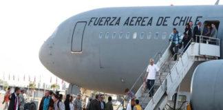 Cuarto vuelo con chilenos que pidieron dejar Venezuela llega con 156 personas