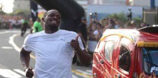 Usain Bolt venció a un mototaxi en Perú (+Video)