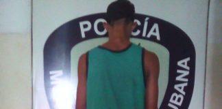 Detenido Policarirubana