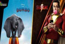 """""""Dumbo"""" y """"¡Shazam!"""" llega a los cines este fin de semana"""