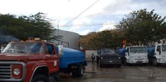 Distribuirán agua potable por cisternas a Paraguaná