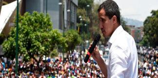 Conozca la agenda de movilización de Juan Guaidó para esta semana