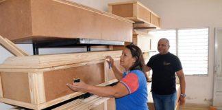 Alcaldía de Carirubana inicia proyecto de fabricación de urnas a bajos costos