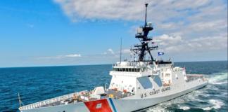 Guardacosta de EEUU navegó en la zona económica de Venezuela