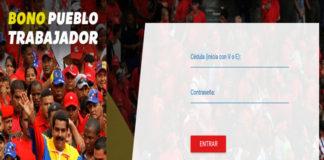 """""""Pueblo Trabajador"""", el nuevo bono de Bs. 25.000 del carnet de la Patria"""