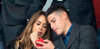 James Rodríguez y Shannon De Lima ya están empatados