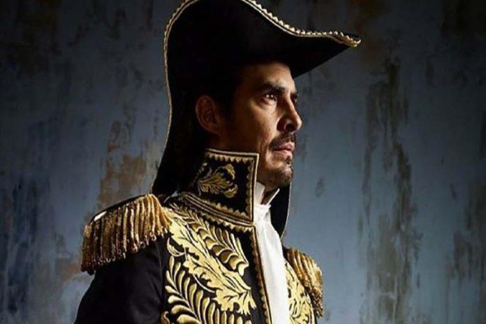 Luis Gerónimo Abreu interpretará a Simón Bolívar