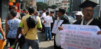 Universidades del país iniciarán paros de actividades el próximo 9 de mayo