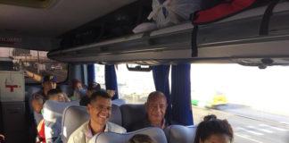 Venezolanos varados en Perú retornaron al país este lunes