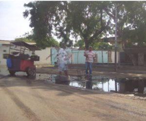 A su diez años, así está el bote de agua del barrio Pueblo Nuevo de Coro (+Fotos)
