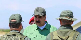 Maduro madruga en Cojedes para supervisa maniobras militares
