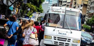 Pasaje urbano a Bs 500 a partir del 15 de mayo en la Gran Caracas