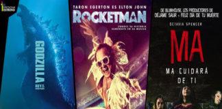 Godzilla, Rocketman y Ma son los estrenos de esta semana