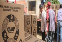 La caja CLAP costará Bs. 2.500 en Caracas
