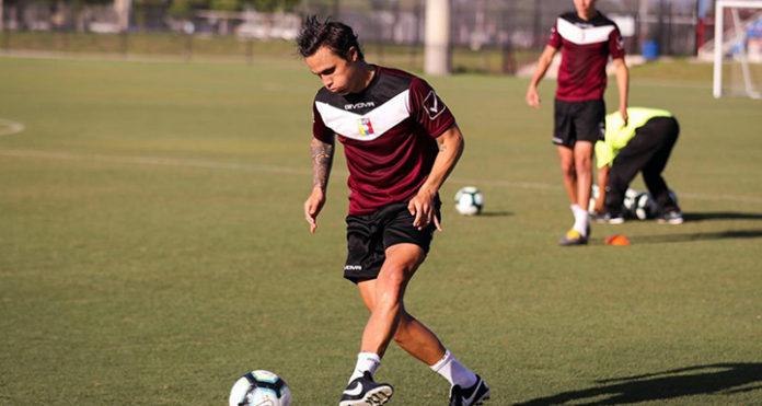 La Vinotinto comenzó su preparación para la Copa América Brasil 2019
