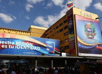 Venezolanos residentes en Colombia solo podrán retirar pasaportes en oficina SAIME de Caracas