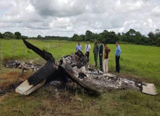 Hallaron avioneta con dos cuerpos calcinados en Barinas