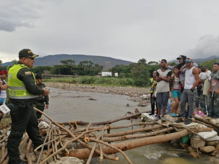 Policía Nacional de Colombia tomó el control de las trochas en la frontera