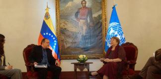 Defensor del Pueblo y Bachelet se reunieron para tratar tema de DDHH