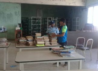 Por vandalismo, seis adolescentes cumplen sanción en liceo Mariano de Talavera